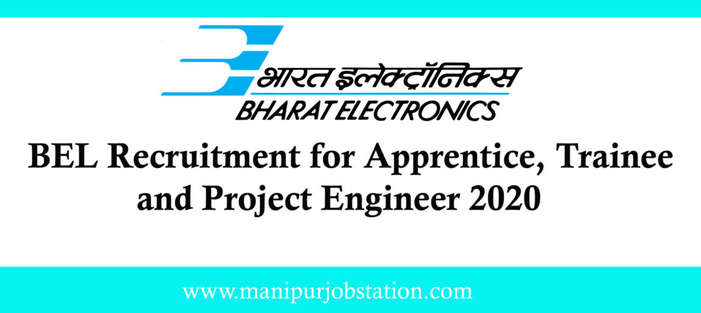 BEL Recruitment for Apprentice, Trainee and  Project Engineer  for 155 Posts 1