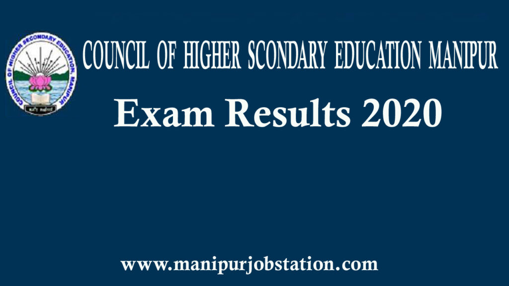 COHSEM Manipur Board HSE 12th result 2020 declared 1