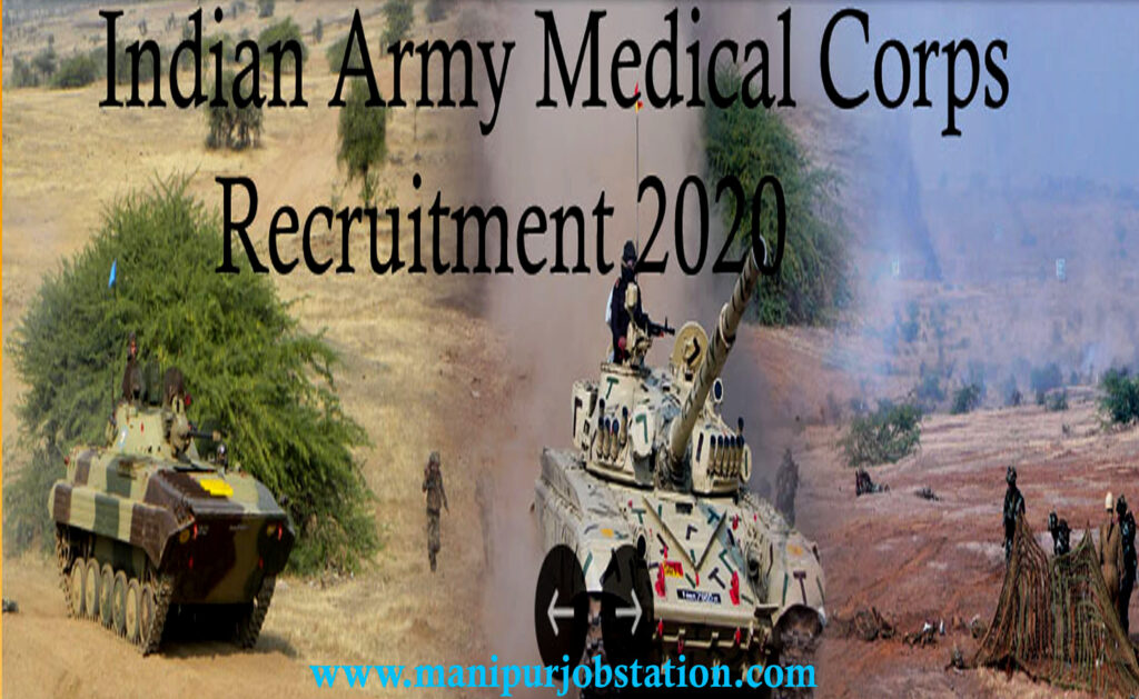 Indian Army medical corps recruitment