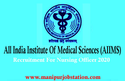 AIIMS Recruitment for Nursing Officer Posts 2020 – Apply Online for 3803 1