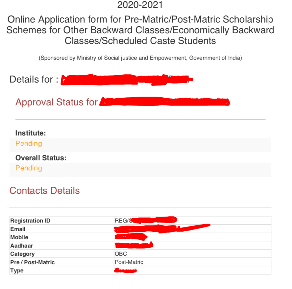 How to Apply for the MOBC Scholarship Manipur? Step by Step Guide-2021 6