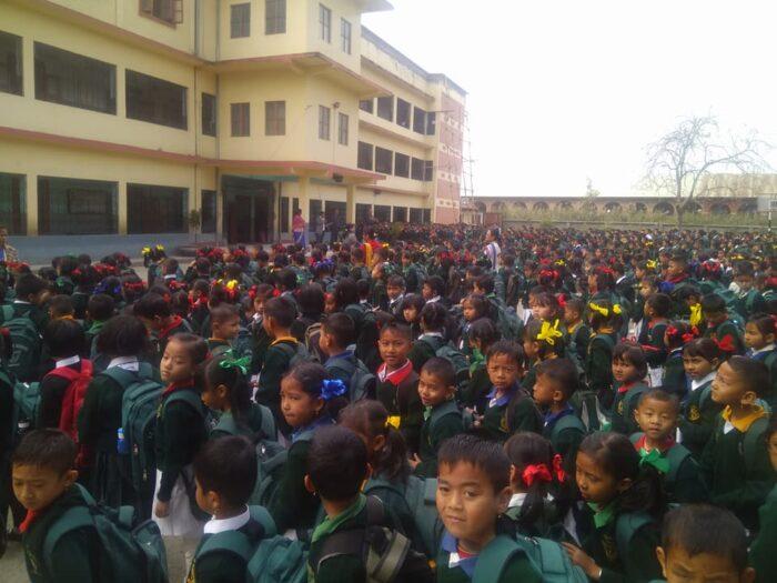 St.George school wangkhei